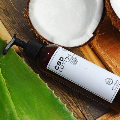lotion with coconut and aloe 1